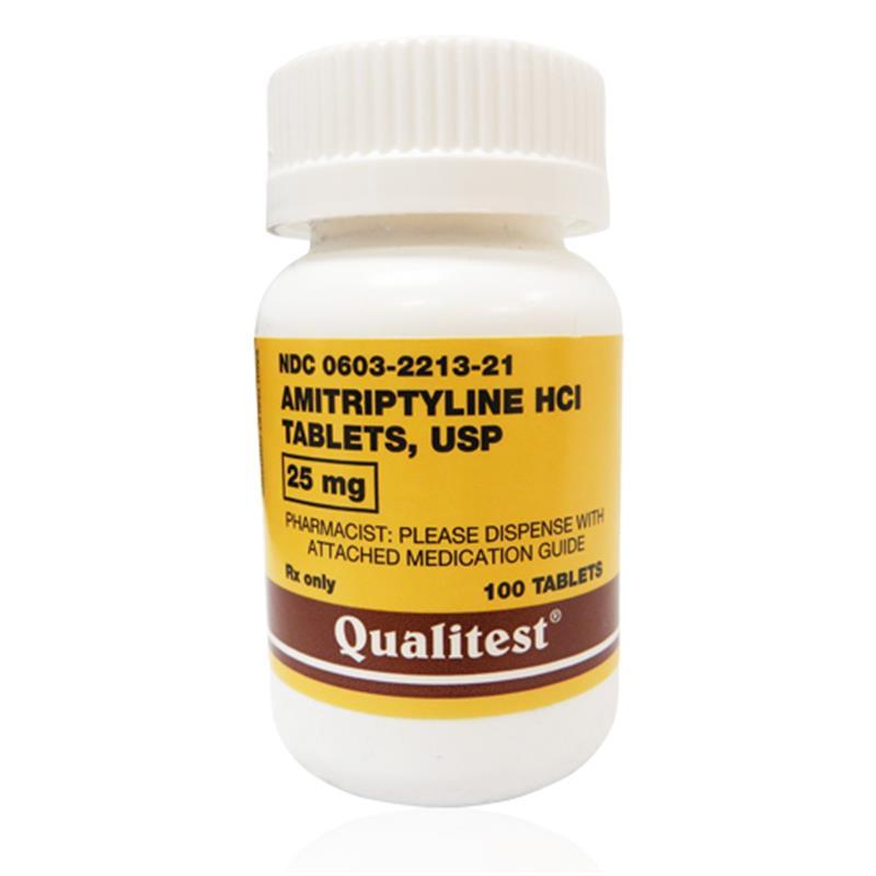 Amitriptyline Hcl 25 Mg Per Tablet