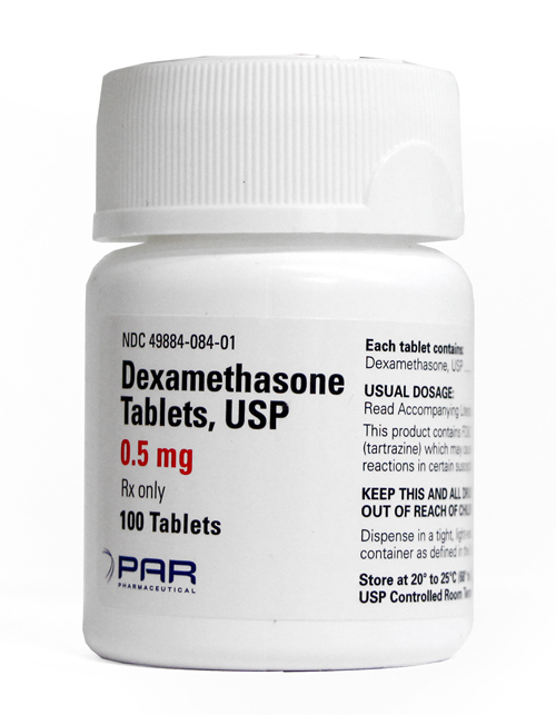 Dexamethasone 0.5mg (per tablet)