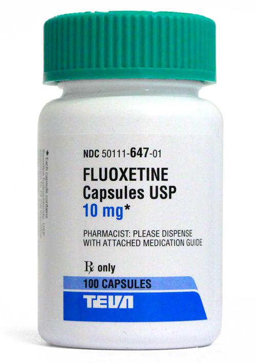 Fluoxetine 10 Mg Per Capsule