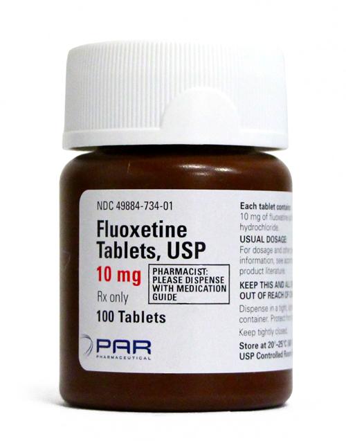 Spectrum Tampa Fl >> Fluoxetine 10 mg per Tablet