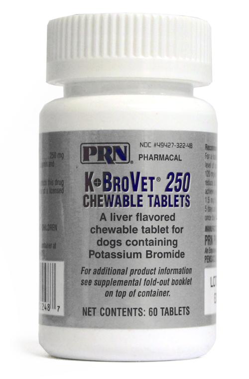 K Brovet 250mg 60 Chewables
