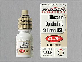 Ofloxacin Eye Drops 0 3 5ml