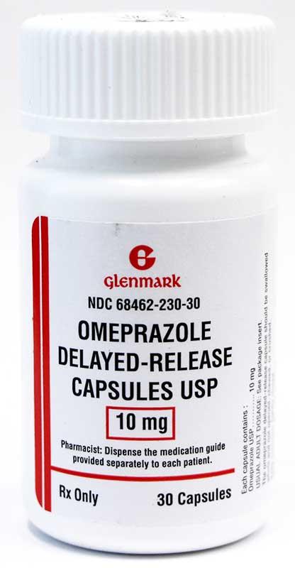 Omeprazole 10mg 30 Ct Capsules