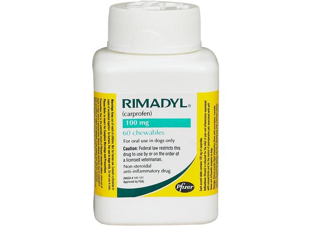 Rimadyl 100mg 60 Caplets