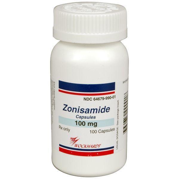 Zonisamide 100mg 100 Ct Capsules