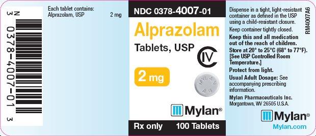 alprazolam 2mg per tablet