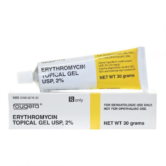 Erythromycin generic cost