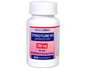 Tetracycline 250mg Per Capsule