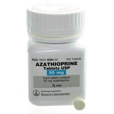 Azathioprine 50mg Per Tablet