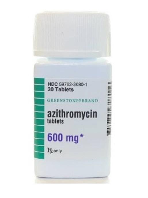 Azithromycin 600mg PER TABLET