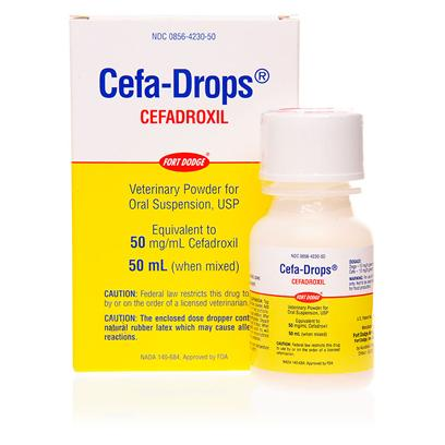 Cefa Drops 50mg Ml 50ml