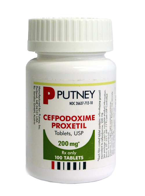 Cefpodoxime Proxetil 200 Mg Per Tablet