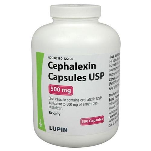 Cephalexin 500 Mg Per Capsule