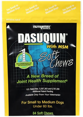 Dasuquin With Msm For Small And Medium Dogs 84 Soft Chews