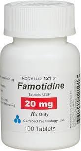 famotidine 20 mg 100 tablets