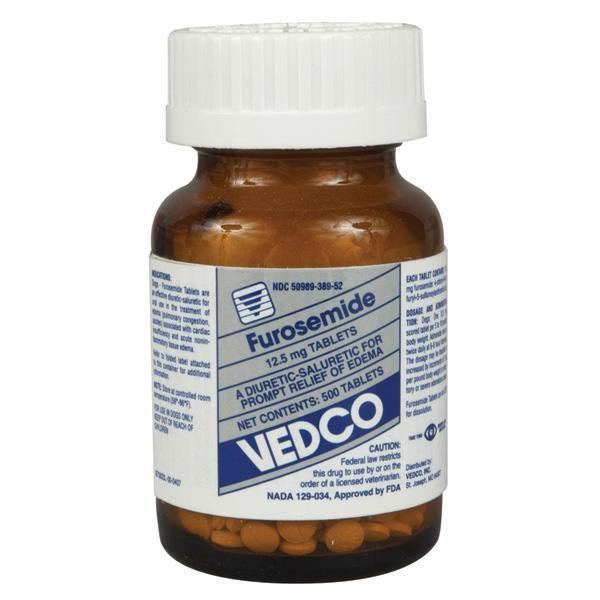 Furosemide 12 5 Mg Per Tablet