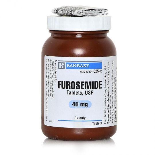 Furosemide 40mg PER TABLET