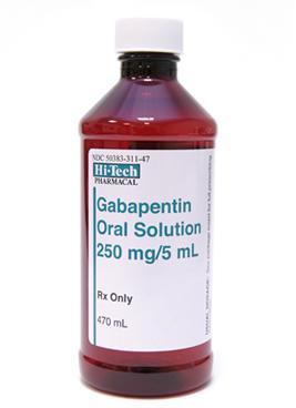 Gabapentin Solution 470ml 250mg 5ml