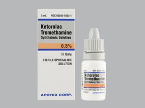 Spectrum Tampa Fl >> Ketorolac Tromethamine Eye Drops 0.5%, 5mL