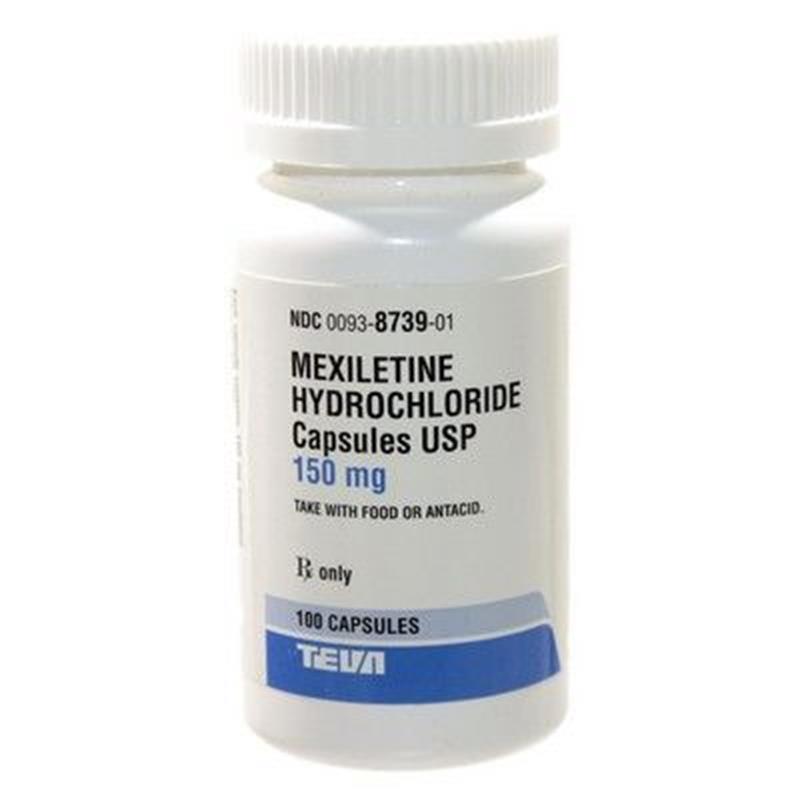 Mexiletine Hydrochloride 150mg 100 Capsules