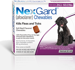 Nexgard 24 1 60 Lbs 1 Tablet