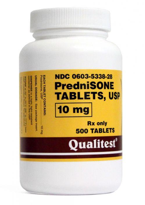 Prednisone 10mg 100 Tablets