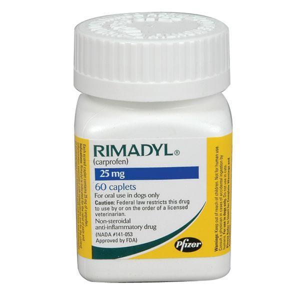 Rimadyl 25mg 60 Caplets