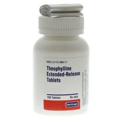Theophylline Er 600 Mg Per Tablet