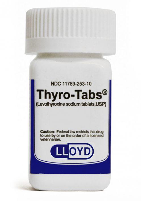 Thyro Tabs Canine 0 4 Mg Per Tablet