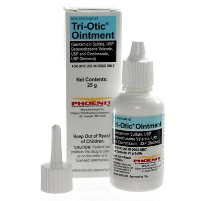 Tri Otic Ointment 25g