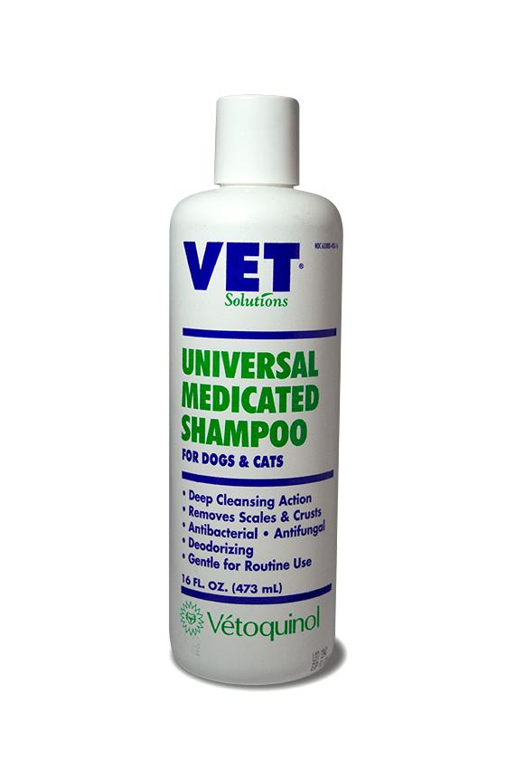 Vetsolutions Universal Medicated Shampoo 16oz